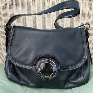 Lulu Guinness Leather Shoulder Bag
